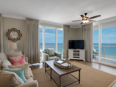 Photo for Totally Renovated 3BR/3BA Gulf Front w/ Beach Chair Service - Book Fall 2019!