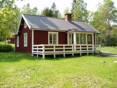 Photo for Lovely cottage in Orrefors with the forest as a neighbor.