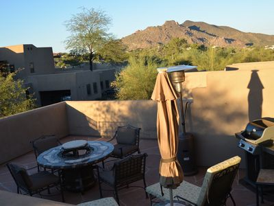 Photo for Quiet,Upper Villa with Rooftop Patio,Scenic Desertscape Views