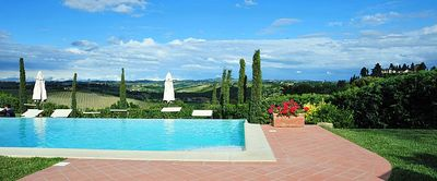Photo for 2 bedroom Villa, sleeps 6 in Nebbiano with Pool, Air Con and WiFi
