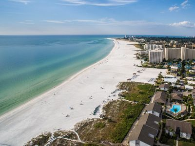 Photo for Breathtaking Views! Direct Beachfront condo on the Gulf of Mexico - Siesta Key!