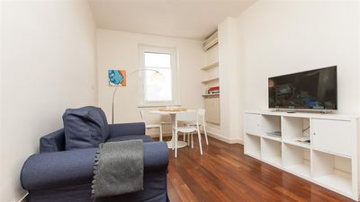 Photo for Apartment with terrace in via Guglielmo Calderini a few minutes away from the historical center
