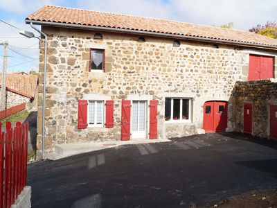 Photo for Renovated rural house in VILLEVERTE ***