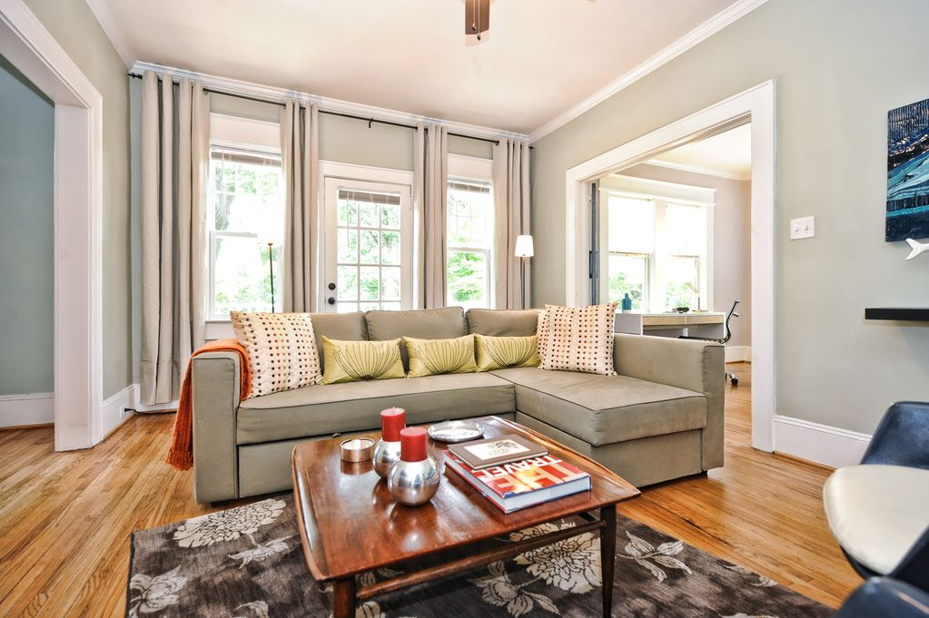 Luxury Apartment In Charlotte No Car Needed Dilworth Longterm Or Short