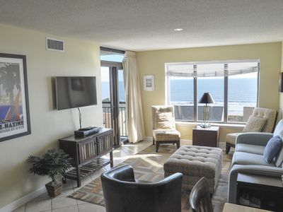 Photo for Beachfront Amenities - Unobstructed Views, 2 Pools, Bright, Spacious & Relaxing