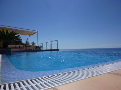 Photo for Luxury villa in Altea with wonderful sea view, infinity swimming pool, south