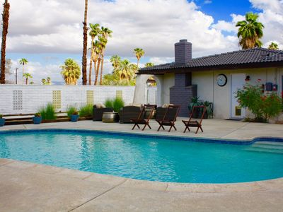 Photo for BUDGET FAMILY RENTAL - KID PARADISE!, 4 BDRM- POOL/SPA/FIRE PIT - FREE POOL HEAT