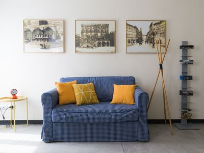 Photo for Cozy, modern, bright. With GARAGE & wi-fi. Close to everything