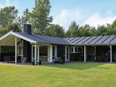 Photo for Tranquil holiday home in Højslev with lawn
