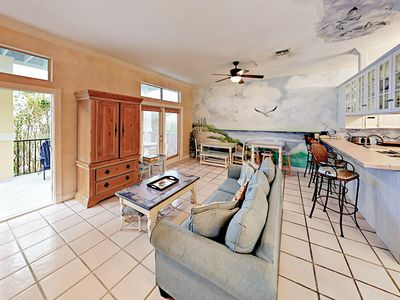 Living Room - Welcome to Destin! This home is professionally managed by TurnKey Vacation Rentals.