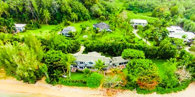 Photo for Beautiful 3 Bedroom Anini Home Just Steps to the Beach!