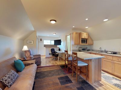 Photo for NEW LISTING! Cozy studio close to skiing, hiking, biking & beautiful Lake Tahoe