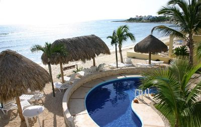 Photo for Akumal Beachfront Condo with Pool  1-2 bdrm