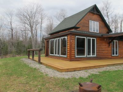 Photo for Private and adorable new cabin, close to town, and great amenities!
