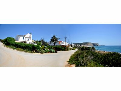 Photo for Ocean front Villa / Uninterrupted 180° Sea View / true vintage / new appliances