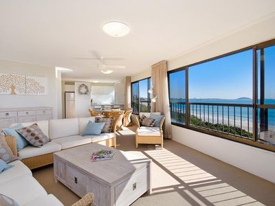 Photo for Waterfront Spacious 3 Bedroom Apartment in Parkyn Place, Mooloolaba Spit, 50% off this February!