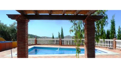 Photo for Rural house next to the natural park, jacuzzi, swimming pool, sea and mountain views