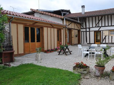Photo for House with timber framed garden near Lac du Der in Champagne, Outine