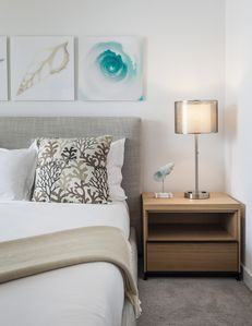 You will have all the space you need in our 2 bedroom apartment. Wifi included.