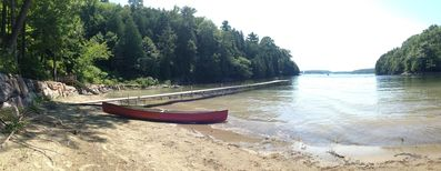 Photo for Private Cove & Sandy Beach on Lake Champlain