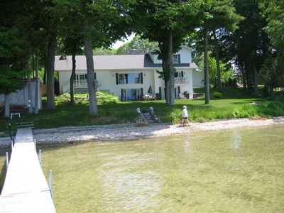 Photo for Large  Lakefront Home on Burt Lake Hunting fishing snow sking golf