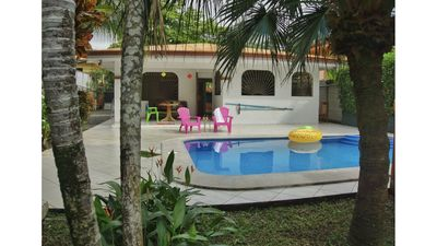 Photo for Family hoe-Private Pool-Two blocks to the beach