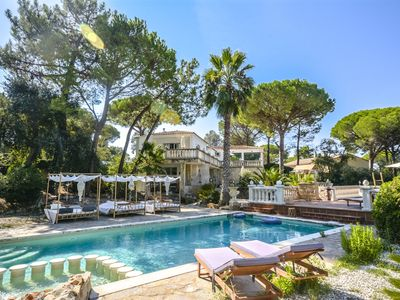 Photo for Villa Michela for up to 18 guests, only 10km to the beach!