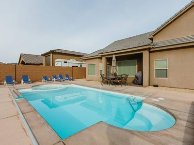 Photo for Sand Hollow Area | Large 5 Br w/Private Pool - (Casa Rio)