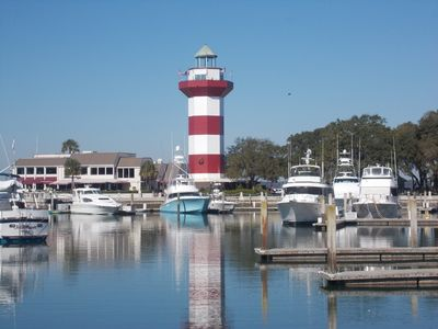 Harbour Town- only a few steps from the front door