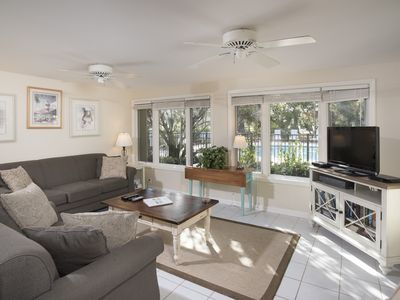 Photo for Sea Pines- Lovely Lighthouse Rd Villa, Free Bikes, Fitness. New on-site pool!