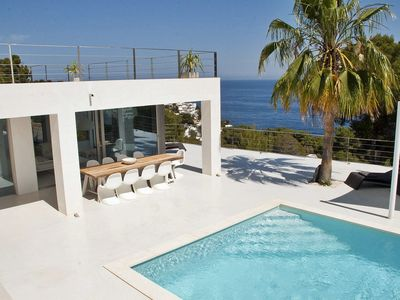 Photo for Modern house with sea views in Ibiza
