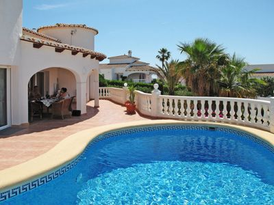 Photo for Vacation home CASA MIKA (MRA295) in Moraira - 4 persons, 2 bedrooms