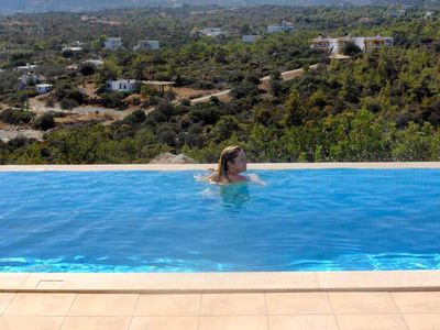 Photo for Villa Hibiscus ~ Fantastic views, own pool, minutes from sandy beaches