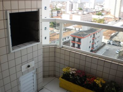Photo for Apto with suite and barbecue on the balcony there is 150 mts from the beach !!!