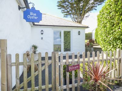 Photo for BLUE OYSTER, romantic, with open fire in Mullion, Ref 957395
