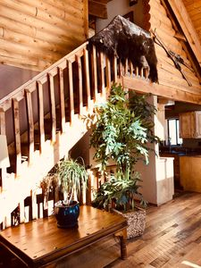 Photo for LOG CABIN on private road STUNNING VIEWS / 8 MIN FROM VAIL RESORT/ SUPER PRIVATE