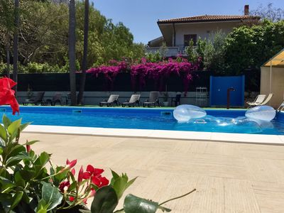Photo for B & B room with pool in Mondello