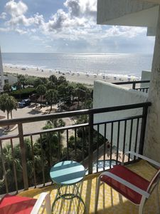 See, Hear, & Smell the Beach from our 1 Bedroom Beachfront Condo
