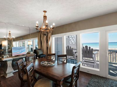 Photo for Oceanfront, 1st Floor (Lower), Fully-Updated, Luxurious 3-BR, 3-Bath Condominium