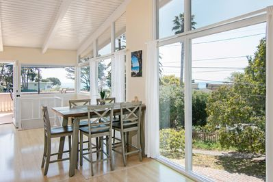 Dining Room - Take in ocean views from the 6-person dining area.