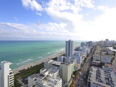 Photo for Fontainebleau Hotel 29th fl Ocean view 2 bdrm
