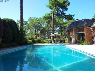 Photo for Superb Villa with swimming pool 50 meters from Péreire Beach