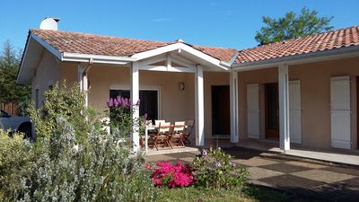 Photo for BEAUTIFUL VILLA on a large plot located in a dead end 5 minutes walk from St Brice