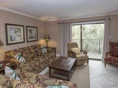 Photo for Xanadu Villa B9 - 3 Bedroom 2 and 1/2 Bathroom Poolside Flat  Hilton Head, SC