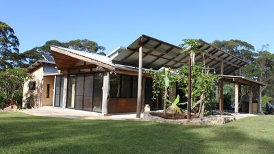 Photo for Secluded Eco Home only minutes to Bluey's and Boomerang Beach