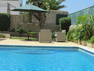 Photo for Beautiful villa in down town with garden and swimming pool nearby the STRIP and beach