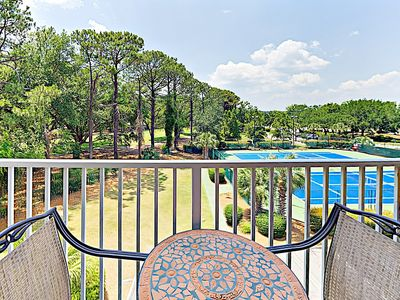 Photo for Gated Resort Retreat w/ 3 Pools, Hot Tub, Tennis Courts & Boardwalk to Beach