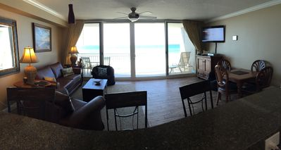 New flooring and furniture