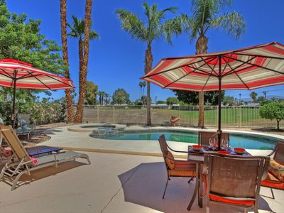 Photo for Spacious Golf Course Home With Private Pool and Spa!