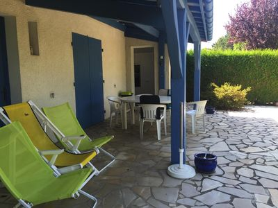 Photo for At 800 m from the beach, House with garden, ideal for enjoying the beach